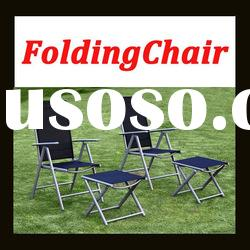 7 positioned folding chair garden patio furniture adjustable