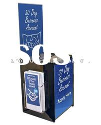 Acrylic Donation Box with Paper Inserts