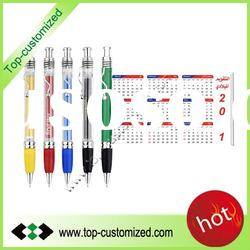 Advertising fly pen with metal clip