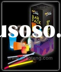 Bar Pack(glow straw, glow stir stick, glow ice cube, glow cup & glow bottle)