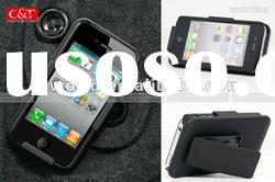 Black Holster Case with Belt Clip For iPhone 4 4S 4G 4GS
