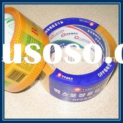 Bopp printed carton sealing adhesive tape