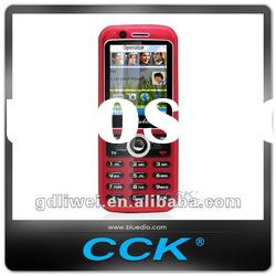 CCK GSM Dual SIM cards TV mobile phone Q52-Red color
