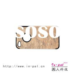 Catchy wood grain leather skin phone case for iphone 4/4s