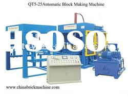 Cement and concrete Block Making Machinery (QT5-25automatic)