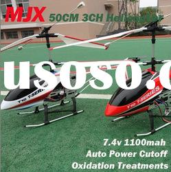 Christmas Gift MJX T10 T-10 50cm 3.5ch Large Metal Gyro 3D Full Flight with Lights RC Helicopter