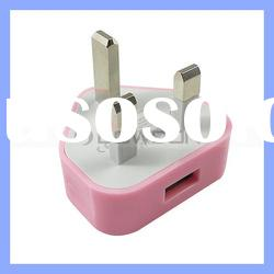 Colorful UK USB Wall Home AC Power Charger Adapter for iPhone 3G 3GS 4 4G 4S