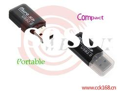 Compact and Portable T-flash usb card reader