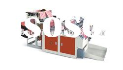 Computer Full automatic Heat sealing and Heat cutting Bag making machine
