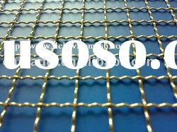 Crimped Wire Mesh;stainless steel crimped wire mesh