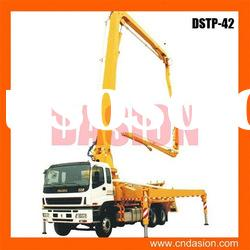 DSTP-42 Concrete Boom Pump with PLC Control for sale in stock