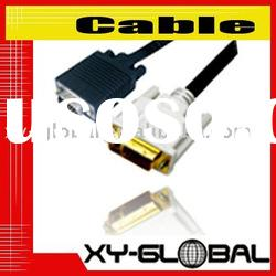 DVI-I to VGA adapter Cable