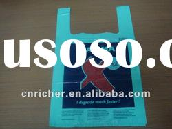 Disposable Plastic shopping T-shirt bag/vest bag/carrier bag