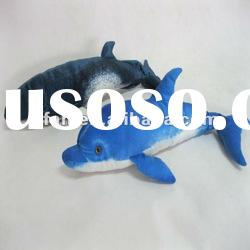 Dolphin plush toy stuffed sea animal toy