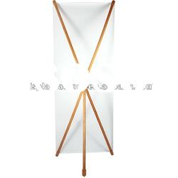 ECO-friendly Bamboo X banner/X display/X banner stand