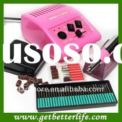 Electric Nail drill machine, nail manicure set Pedicure Drill File - Nail Drill 278 pink 18V