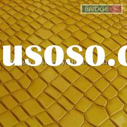 Embossed PU leather for furniture