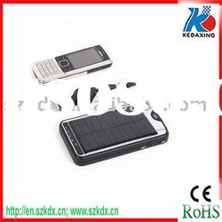 Emergency mobile phone solar charger for mp3