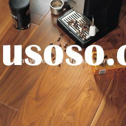 Exotics HDF natural walnut engineered flooring parquet wood floors lacquered/oiled
