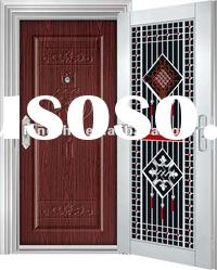 Exterior Double Stainless Steel Door Designs
