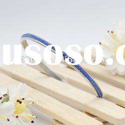 Fashion Bule Crystal Bangles for Women