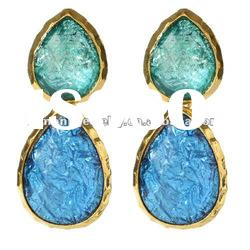 Fashion Earrings Spring Green 2012/2013 Spring/Summer Collection 18K Brass