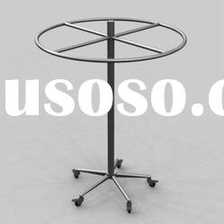 Fashion Round Stainless Steel Display Rack