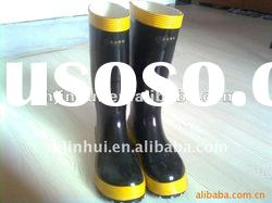 Fashion Safety boots,rubber fire proof boots