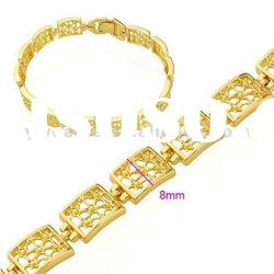 Fashion bracelet gold accessories/Alloy metal chain bracelet/Men's bracelet