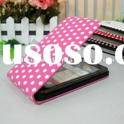 For Samsung Galaxy S2 I9100 Leather Case with High Quality
