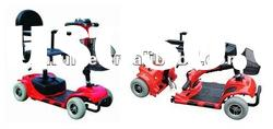 Four Wheel Detachable Mobility Scooter with EMC & FDA