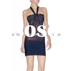 Free shipping hot selling 2011 classic short gray beats dresses in Guangzhou wholesale
