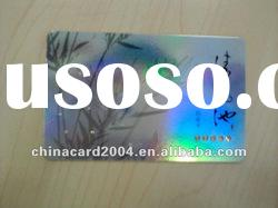Full Color plastic card with crystal diamond