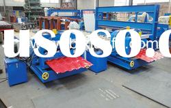 Glazed tile metal sheet roll forming machine XF28-207-1035