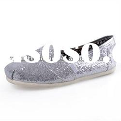 Glitter Brand Shoes for Canvas Anti Slip on Cheap