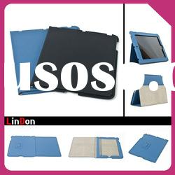 Good design! PU Leather cover case for ipad 2 PD311