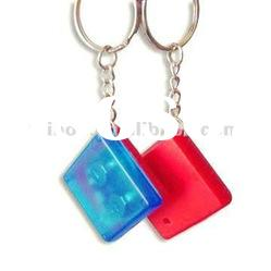 Good quality whistling key chain finder locator with red flashing