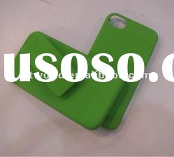 Green Slide Case with Belt Clip Swivel Holster Stand for iPhone 4 4S 4G