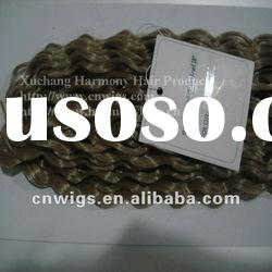 HIGH QUALITY kanekalon synthetic hair weft/synthetic hair
