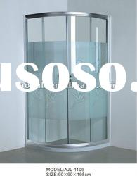 HOT-SALED shower enclosure with printed glass sliding door