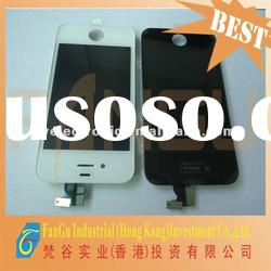 HOT! for Iphone 4 LCD display with touch screen assembly (Black&white)
