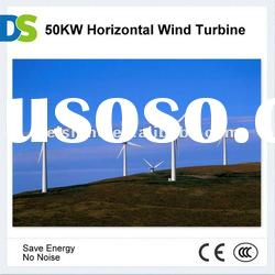 H 50KW Horizontal Axis Wind Turbine Power Generator
