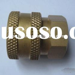 "High Pressure Washer Hydraulic Brass quick coupler 1/4""NPT Female Coupler"