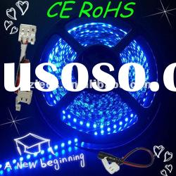 High Quality 120led/m waterproof 3528 led strip light remote controlled battery operated led light