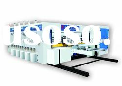 High Speed Computerized One Color Flexographic Printing Slotting Die cutting Machine
