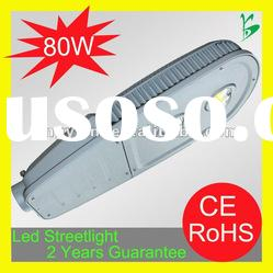 High power integrated led streetlight 80w / ce & rohs