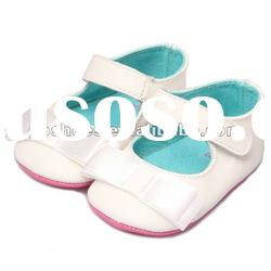 High quality Baby Learning white Walking Shoes