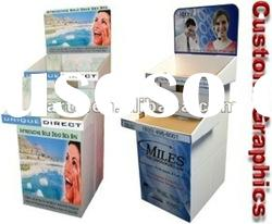 High quality corrugated cardboard pallet display
