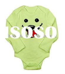 Hot Long Sleeve Infant Bodysuit