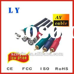 Hot selling RCA cable, AV cable, audio video cable,multimedia cable
